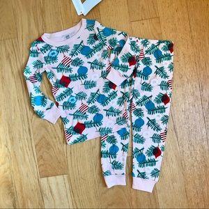 NWT Gymboree Pink Holiday Pajamas